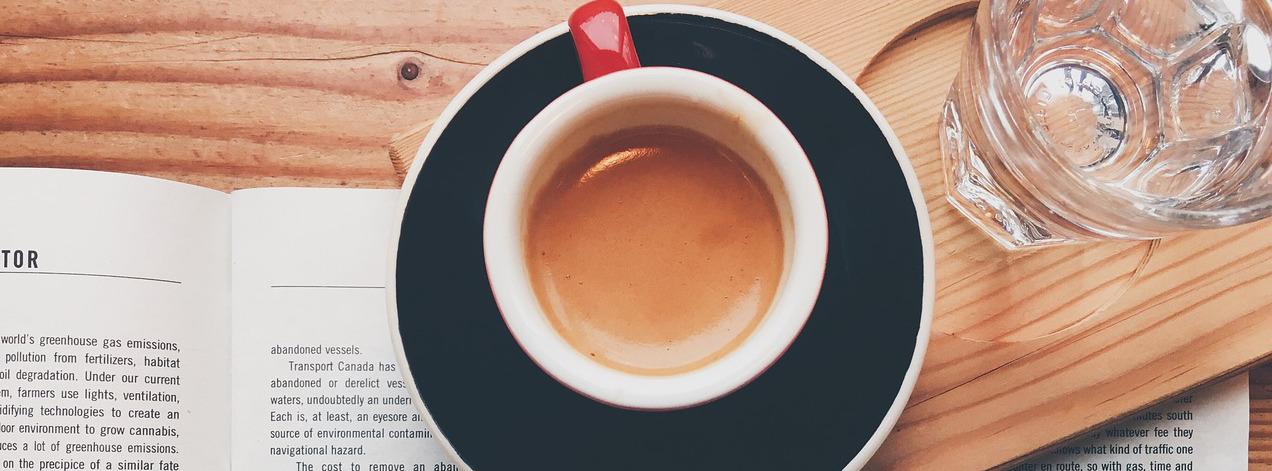 Kaffee - Auch beim Lesen eine Bereicherung